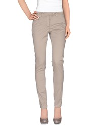 Cavalleria Toscana Trousers Casual Trousers Women Dove Grey