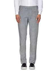 Paolo Pecora Trousers Casual Trousers Men Blue