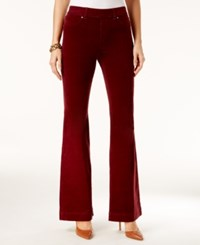 Inc International Concepts Corduroy Flare Leg Pants Only At Macy's Red Shadow
