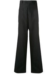 Undercover Striped Wide Leg Tailored Trousers 60