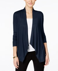 Inc International Concepts Petite Long Sleeve Open Front Cardigan Only At Macy's