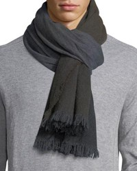 Begg And Co Nuance Oxide Wash Scarf Brown