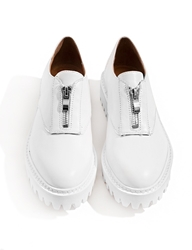 Pixie Market Jeffrey Campbell Tanya White Zip Oxfords