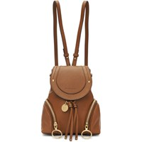 See By Chloe Brown Small Olga Backpack