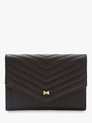 Ted Baker Nourr Small Leather Foldover Purse Black