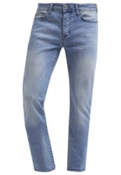 Pier One Straight Leg Jeans Light Blue