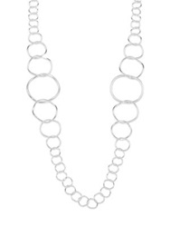 Ippolita Glamazon Sterling Silver Extra Long Link Necklace