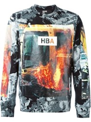 Hood By Air Photography Print Sweater