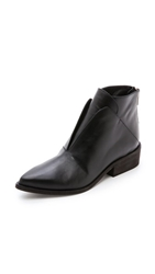 Ld Tuttle The Ash Geometric Oxford Booties Black