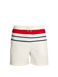 Solid And Striped The Classic Swim Shorts White Multi