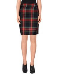 Clio Skirts Knee Length Skirts Women Red