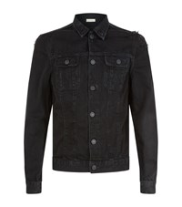 Allsaints Snipe Denim Jacket Male Black