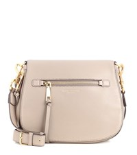 Marc Jacobs Recruit Small Nomad Leather Shoulder Bag Grey