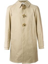 J.W.Anderson J.W. Anderson Perforated Metal Button Trench Coat Nude And Neutrals