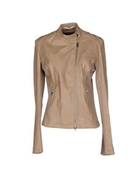 Gaudi' Coats And Jackets Jackets Women Khaki