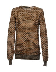 Messagerie Knitwear Jumpers Brown