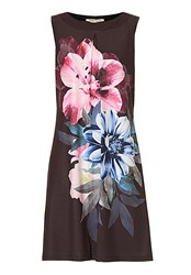 Betty Barclay Floral Print Dress Multi Coloured Multi Coloured