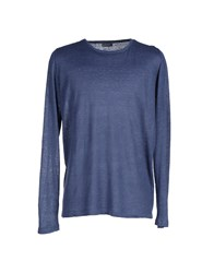 Rossopuro Sweaters Slate Blue