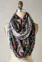 Anthropologie Contempo Infinity Scarf Black