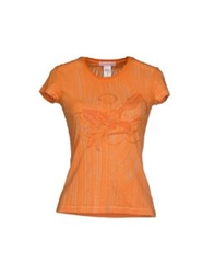 Custo Barcelona T Shirts Orange