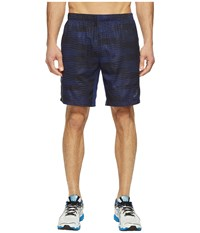 Asics Tennis Club Challenger Gpx 7 Shorts Indigo Blue Men's Shorts