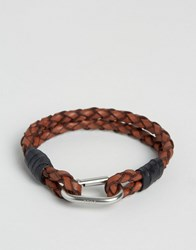 Polo Ralph Lauren Brown Leather Bracelet Brown