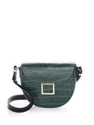 Jason Wu Jaime Tivoli Saddle Bag Green Rossio