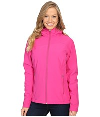 Spyder Rayna Hoodie Fleece Jacket Voila Women's Coat Purple
