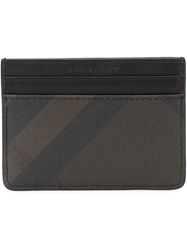 Burberry 'House Check' Cardholder Brown