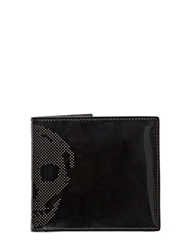 Alexander Mcqueen Patent Leather Wallet Black