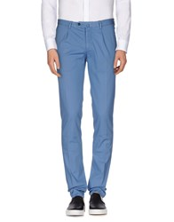 Luigi Bianchi Mantova Trousers Casual Trousers Men Azure