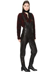 Chloe Leather Overalls