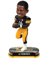 Forever Collectibles Le'veon Bell Pittsburgh Steelers Headline Bobblehead Black