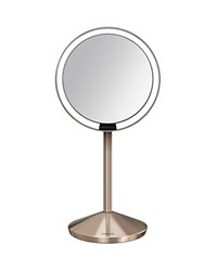 Simplehuman Mini Sensor Makeup Mirror With Travel Case 5 Rose Gold