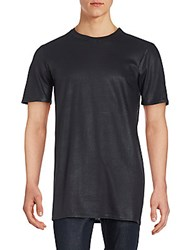 Drifter Cotton Roundneck Tee Black
