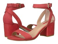 Guess Eva Lux Coral Women's Sandals Red