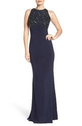 Aidan Mattox Women's By Jersey Gown
