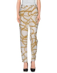 Genny Trousers Casual Trousers Women Ivory