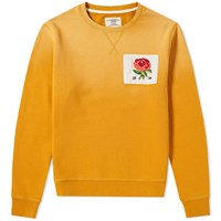 Kent And Curwen 1926 Crew Sweat Yellow