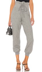 Lovers Friends Kyle Jogger In Gray. Heather Grey