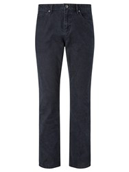 John Lewis Headland Washed 5 Pocket Trousers Navy