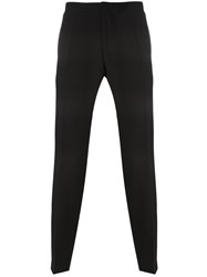 Hugo Boss Tailored Cropped Trousers Black