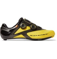 Mavic Cosmic Ultimate Ii Carbon Sole Road Cycling Shoes Yellow