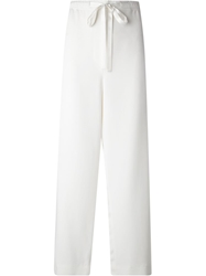 Marc Jacobs Wide Leg Trousers White