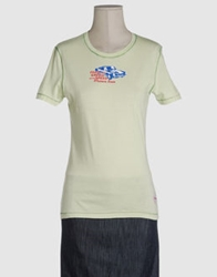 Waimea Classic Short Sleeve T Shirts Light Green