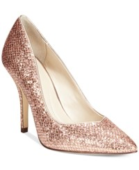 Styleandco. Style And Co. Pyxie Evening Pumps Women's Shoes Rose Gold
