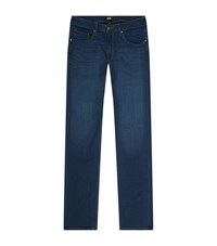 Paige Federal Slim Jeans Male Navy