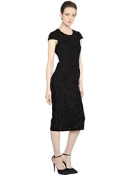Burberry Cotton Macrame Lace And Organza Dress