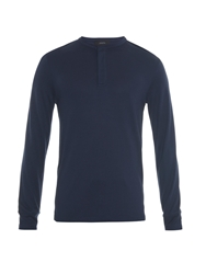 Joseph Long Sleeved Henley T Shirt