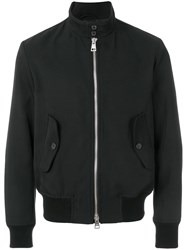 Ami Alexandre Mattiussi Patch Pockets Zipped Jacket Black